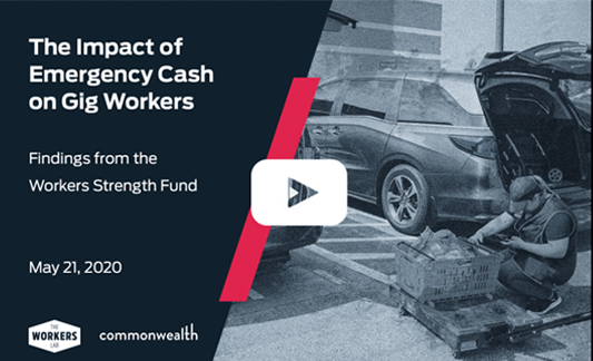 The Impact of Emergency Cash on Gig Workers (Video)